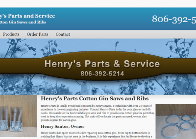 Henry's Parts and Service